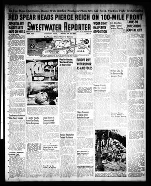 Primary view of object titled 'Sweetwater Reporter (Sweetwater, Tex.), Vol. 48, No. 25, Ed. 1 Monday, January 29, 1945'.
