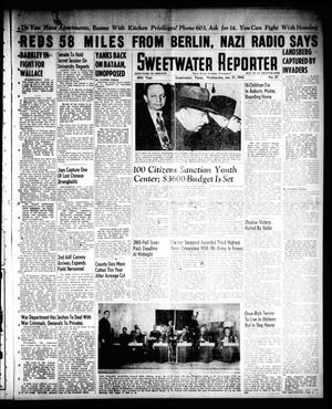 Primary view of object titled 'Sweetwater Reporter (Sweetwater, Tex.), Vol. 48, No. 27, Ed. 1 Wednesday, January 31, 1945'.