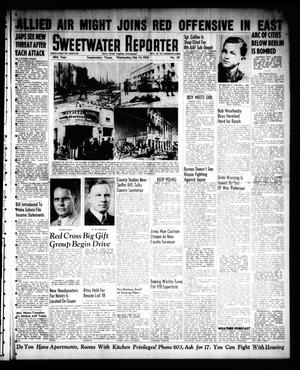 Primary view of object titled 'Sweetwater Reporter (Sweetwater, Tex.), Vol. 48, No. 39, Ed. 1 Wednesday, February 14, 1945'.