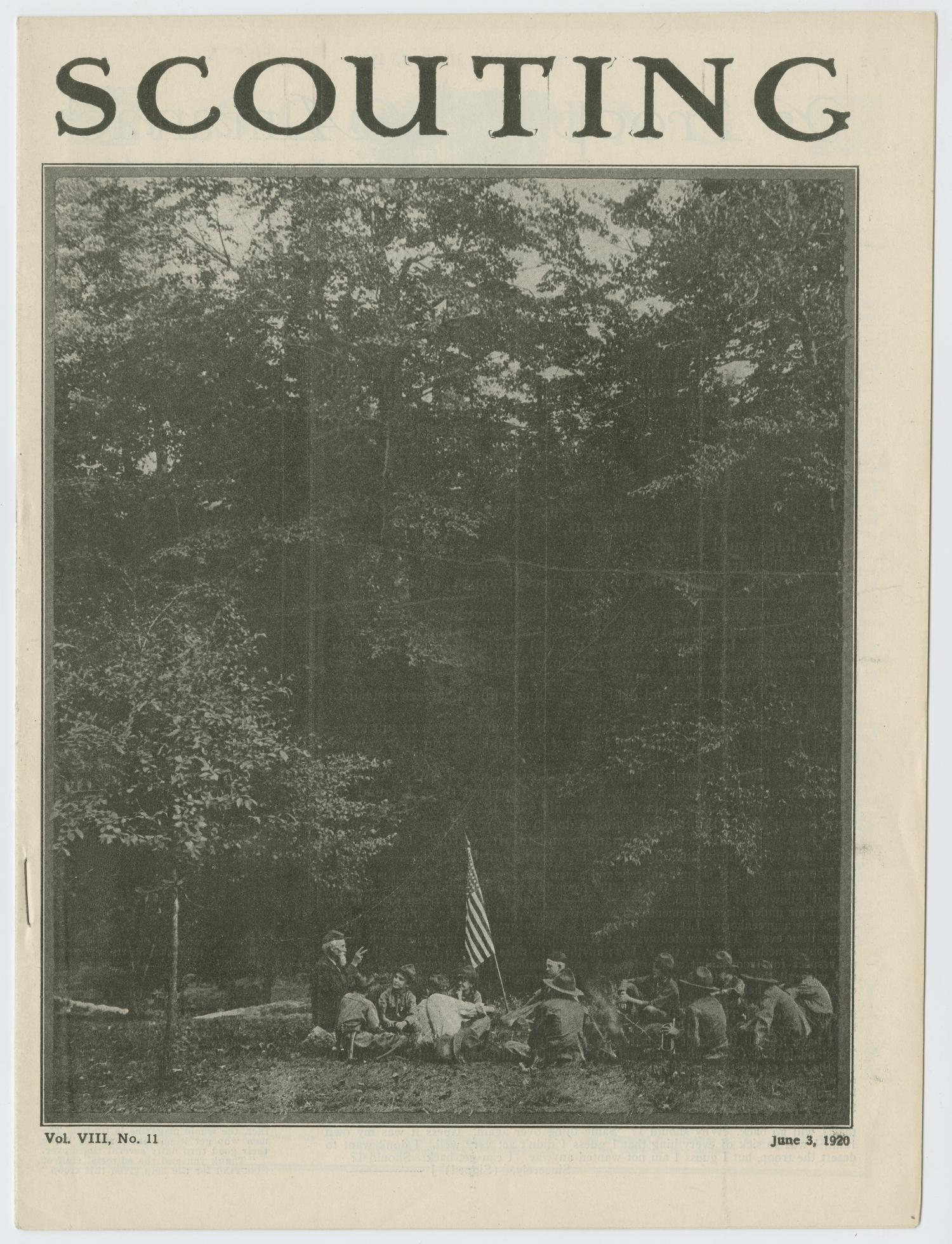 Scouting, Volume 8, Number 11, June 3, 1920                                                                                                      1