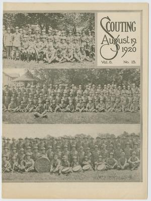 Primary view of object titled 'Scouting, Volume 8, Number 13, August 19, 1920'.