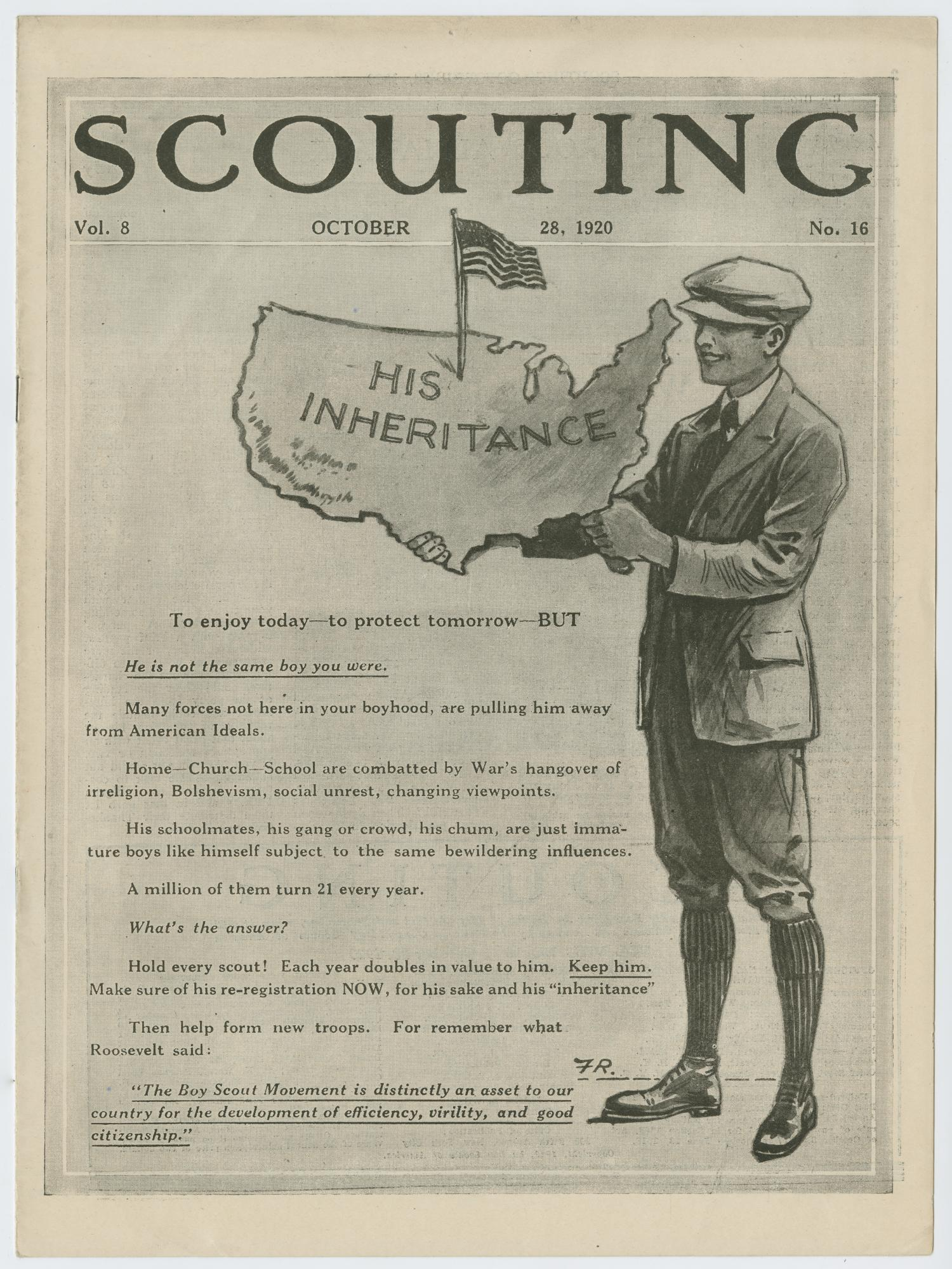 Scouting, Volume 8, Number 16, October 28, 1920                                                                                                      1
