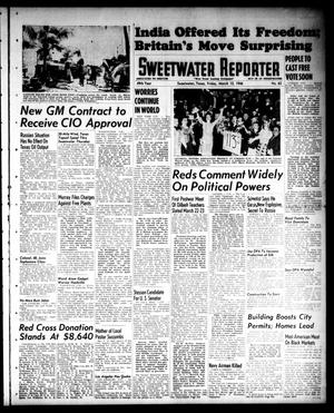 Primary view of object titled 'Sweetwater Reporter (Sweetwater, Tex.), Vol. 49, No. 63, Ed. 1 Friday, March 15, 1946'.