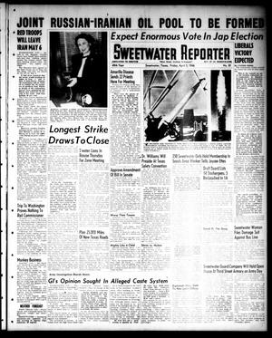 Primary view of object titled 'Sweetwater Reporter (Sweetwater, Tex.), Vol. 49, No. 81, Ed. 1 Friday, April 5, 1946'.