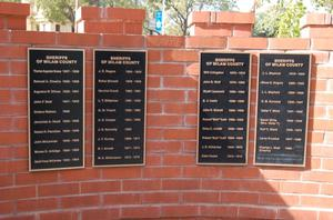 Primary view of object titled 'Milam County Peace Officers Memorial'.