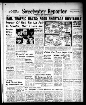 Primary view of object titled 'Sweetwater Reporter (Sweetwater, Tex.), Vol. 49, No. 123, Ed. 1 Friday, May 24, 1946'.