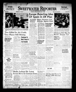 Primary view of object titled 'Sweetwater Reporter (Sweetwater, Tex.), Vol. 51, No. 78, Ed. 1 Thursday, April 1, 1948'.