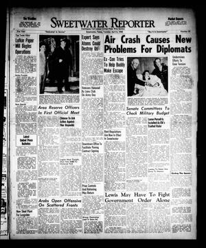 Primary view of object titled 'Sweetwater Reporter (Sweetwater, Tex.), Vol. 51, No. 82, Ed. 1 Tuesday, April 6, 1948'.