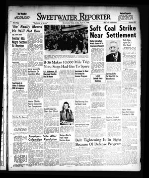 Primary view of object titled 'Sweetwater Reporter (Sweetwater, Tex.), Vol. 51, No. 86, Ed. 1 Sunday, April 11, 1948'.