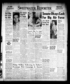 Primary view of object titled 'Sweetwater Reporter (Sweetwater, Tex.), Vol. 51, No. 108, Ed. 1 Thursday, May 6, 1948'.