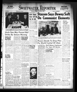 Primary view of object titled 'Sweetwater Reporter (Sweetwater, Tex.), Vol. 51, No. 110, Ed. 1 Sunday, May 9, 1948'.