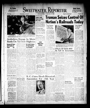 Primary view of object titled 'Sweetwater Reporter (Sweetwater, Tex.), Vol. 51, No. 111, Ed. 1 Monday, May 10, 1948'.