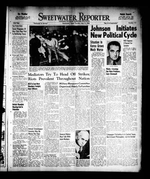 Primary view of object titled 'Sweetwater Reporter (Sweetwater, Tex.), Vol. 51, No. 114, Ed. 1 Thursday, May 13, 1948'.