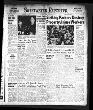 Primary view of object titled 'Sweetwater Reporter (Sweetwater, Tex.), Vol. 51, No. 115, Ed. 1 Friday, May 14, 1948'.