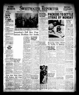 Sweetwater Reporter (Sweetwater, Tex.), Vol. 51, No. 121, Ed. 1 Friday, May 21, 1948