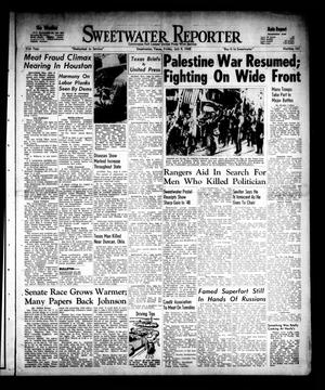 Primary view of object titled 'Sweetwater Reporter (Sweetwater, Tex.), Vol. 51, No. 163, Ed. 1 Friday, July 9, 1948'.