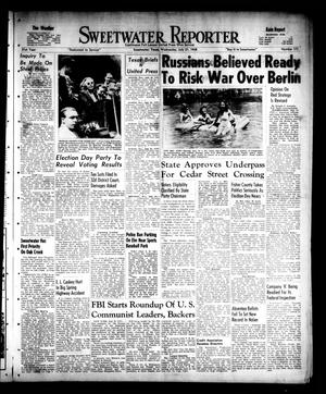 Primary view of object titled 'Sweetwater Reporter (Sweetwater, Tex.), Vol. 51, No. 173, Ed. 1 Wednesday, July 21, 1948'.