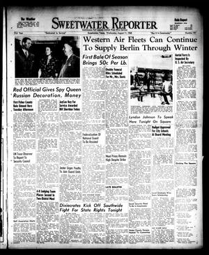 Primary view of object titled 'Sweetwater Reporter (Sweetwater, Tex.), Vol. 51, No. 191, Ed. 1 Wednesday, August 11, 1948'.