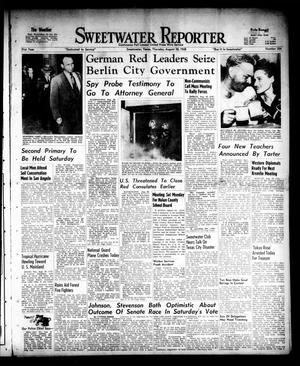 Primary view of object titled 'Sweetwater Reporter (Sweetwater, Tex.), Vol. 51, No. 204, Ed. 1 Thursday, August 26, 1948'.