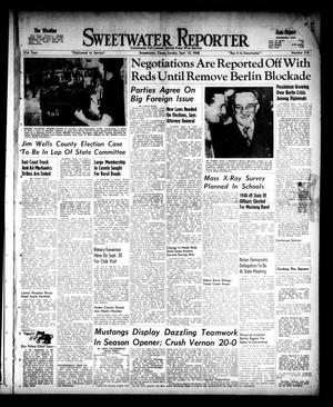 Primary view of object titled 'Sweetwater Reporter (Sweetwater, Tex.), Vol. 51, No. 218, Ed. 1 Sunday, September 12, 1948'.