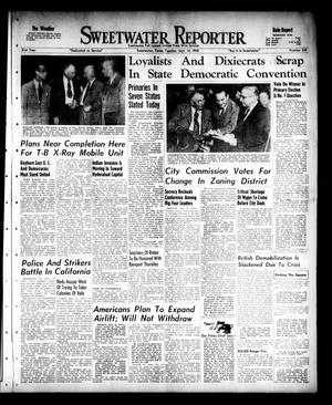 Primary view of object titled 'Sweetwater Reporter (Sweetwater, Tex.), Vol. 51, No. 220, Ed. 1 Tuesday, September 14, 1948'.