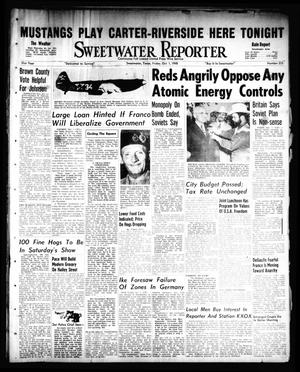 Primary view of object titled 'Sweetwater Reporter (Sweetwater, Tex.), Vol. 51, No. 235, Ed. 1 Friday, October 1, 1948'.