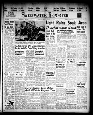 Primary view of object titled 'Sweetwater Reporter (Sweetwater, Tex.), Vol. 51, No. 242, Ed. 1 Sunday, October 10, 1948'.