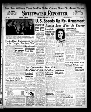 Primary view of object titled 'Sweetwater Reporter (Sweetwater, Tex.), Vol. 51, No. 244, Ed. 1 Tuesday, October 12, 1948'.