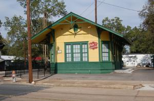 Primary view of object titled 'The La Grange Depot Museum and M-K-T Railroad Depot'.
