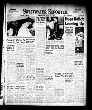 Primary view of object titled 'Sweetwater Reporter (Sweetwater, Tex.), Vol. 52, No. 107, Ed. 1 Thursday, May 5, 1949'.