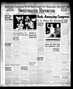 Primary view of object titled 'Sweetwater Reporter (Sweetwater, Tex.), Vol. 52, No. 120, Ed. 1 Friday, May 20, 1949'.