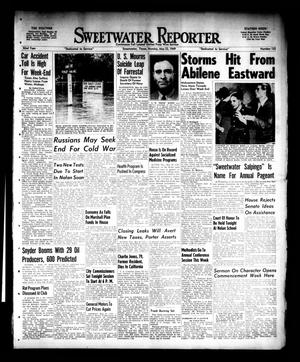 Primary view of object titled 'Sweetwater Reporter (Sweetwater, Tex.), Vol. 52, No. 122, Ed. 1 Monday, May 23, 1949'.