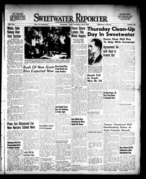 Primary view of object titled 'Sweetwater Reporter (Sweetwater, Tex.), Vol. 52, No. 136, Ed. 1 Wednesday, June 8, 1949'.