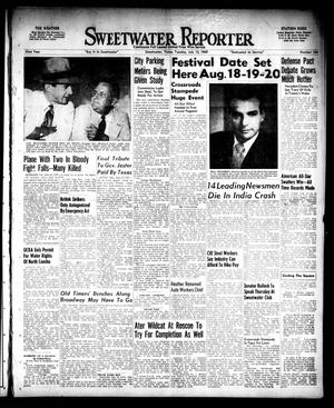 Primary view of object titled 'Sweetwater Reporter (Sweetwater, Tex.), Vol. 52, No. 164, Ed. 1 Tuesday, July 12, 1949'.