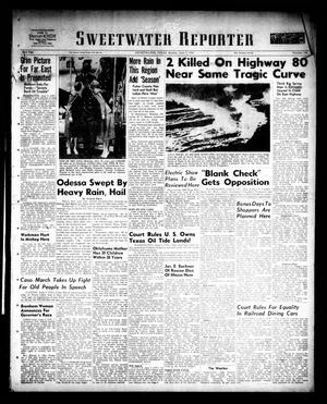 Primary view of Sweetwater Reporter (Sweetwater, Tex.), Vol. 53, No. 133, Ed. 1 Monday, June 5, 1950