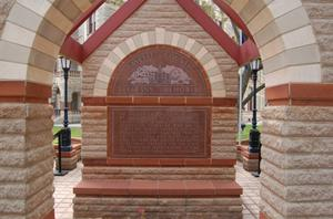 Primary view of object titled 'Fayette County Veterans Memorial'.