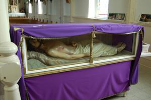 Primary view of object titled 'St. Mary's Church of the Assumption, body of Jesus'.