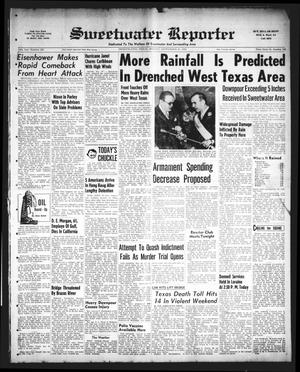 Sweetwater Reporter (Sweetwater, Tex.), Vol. 58, No. 228, Ed. 1 Monday, September 26, 1955