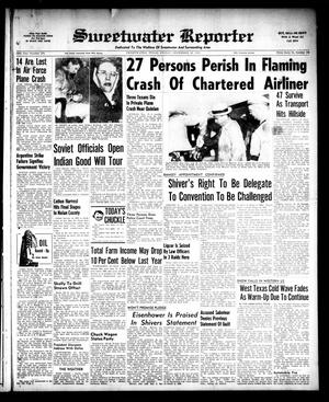 Sweetwater Reporter (Sweetwater, Tex.), Vol. 58, No. 274, Ed. 1 Friday, November 18, 1955