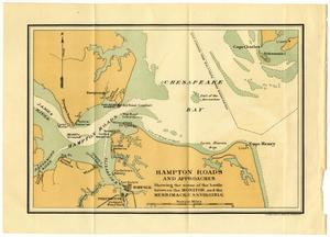 Primary view of object titled 'Hampton Roads and Approaches'.