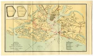 Map of Approaches to Charleston, South Carolina