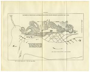 Primary view of object titled 'Batteries at Grand Gulf Captured by the United States Mississippi Squadron, May 3, 1863'.