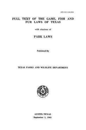 by texas publication citation