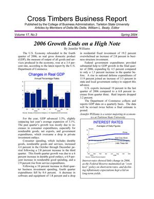 Cross Timbers Business Report, Volume [20], Number [2], [Winter 2007]