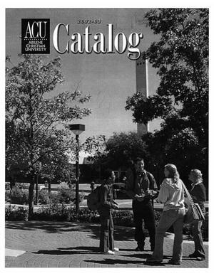 Primary view of Catalog of Abilene Christian University, 2002-2003