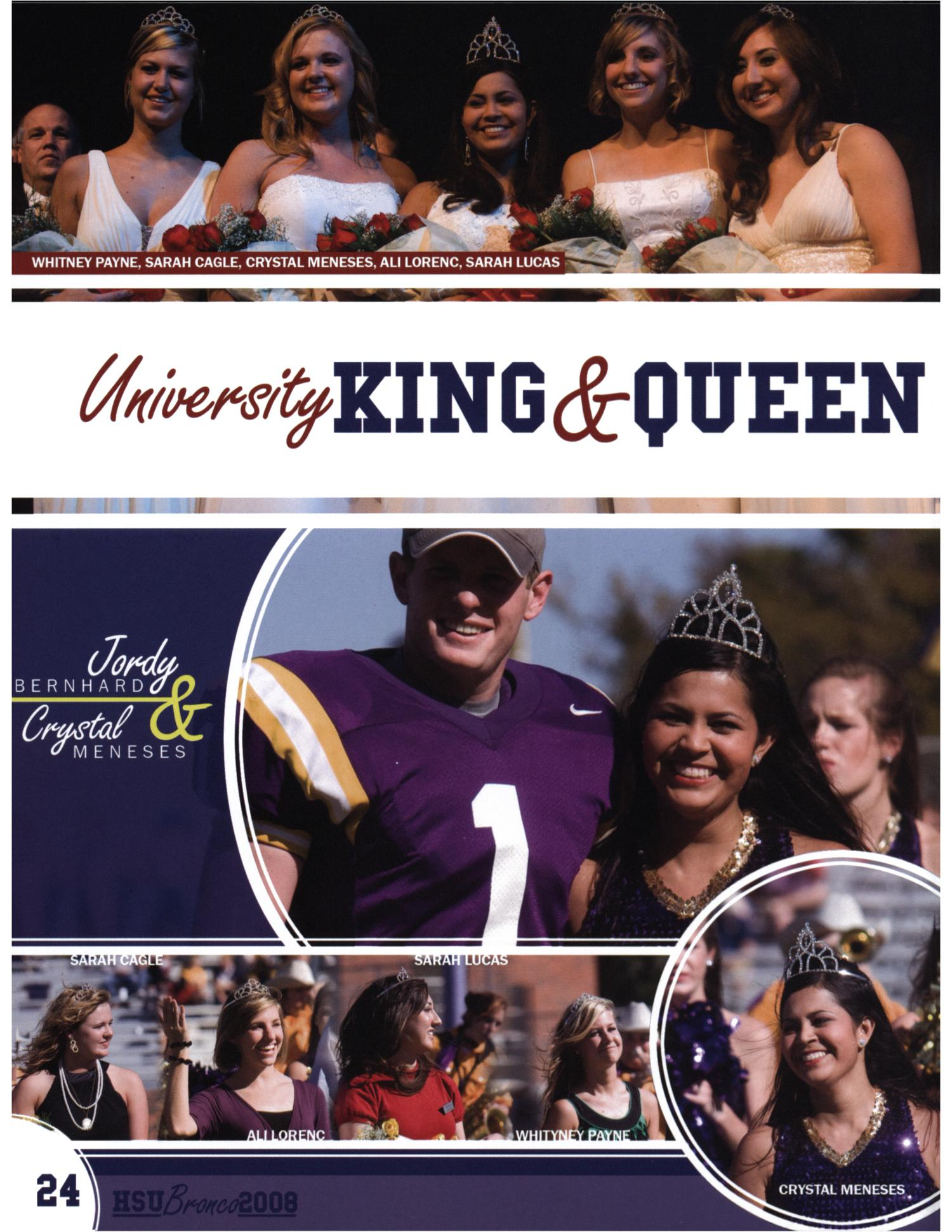 The Bronco, Yearbook of Hardin-Simmons University, 2008                                                                                                      24