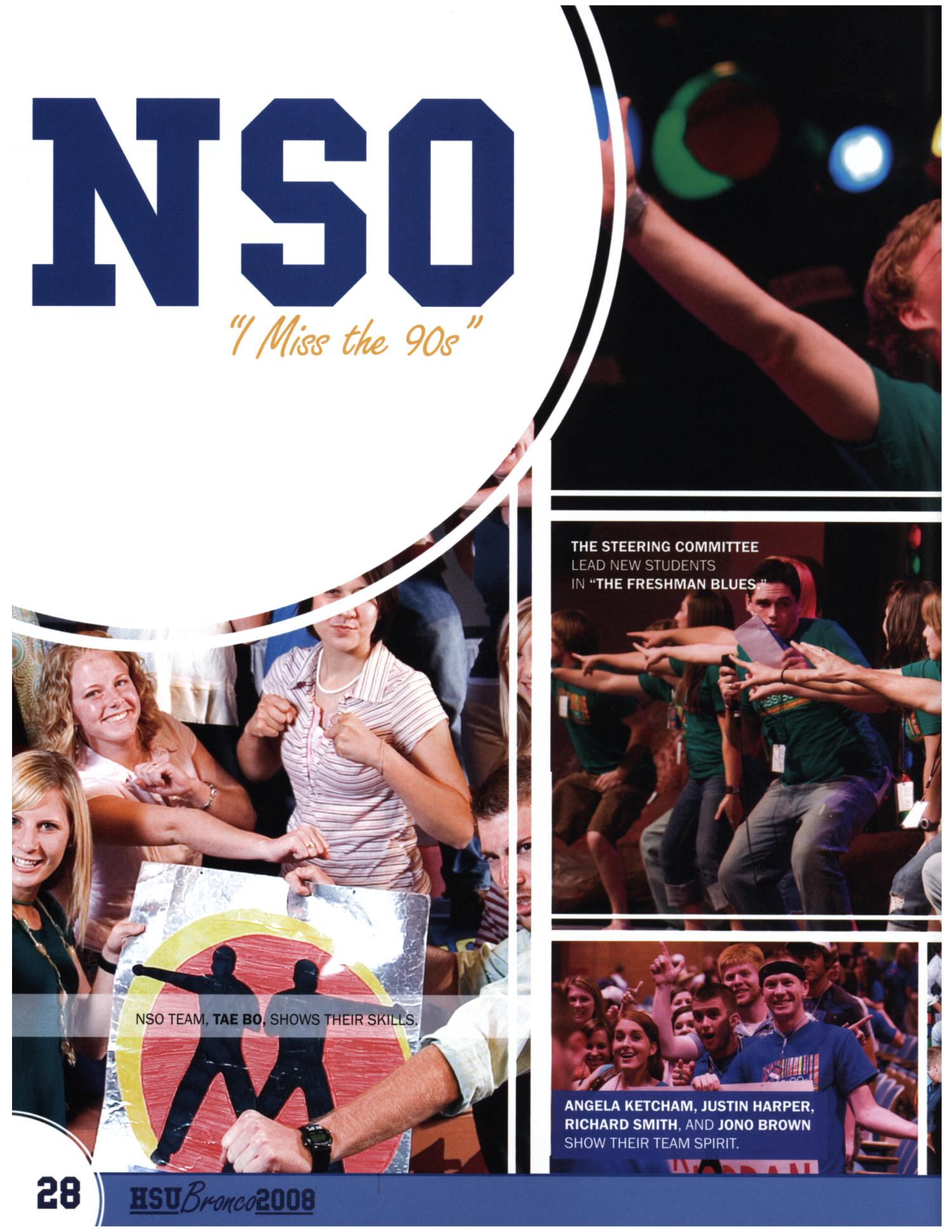 The Bronco, Yearbook of Hardin-Simmons University, 2008                                                                                                      28