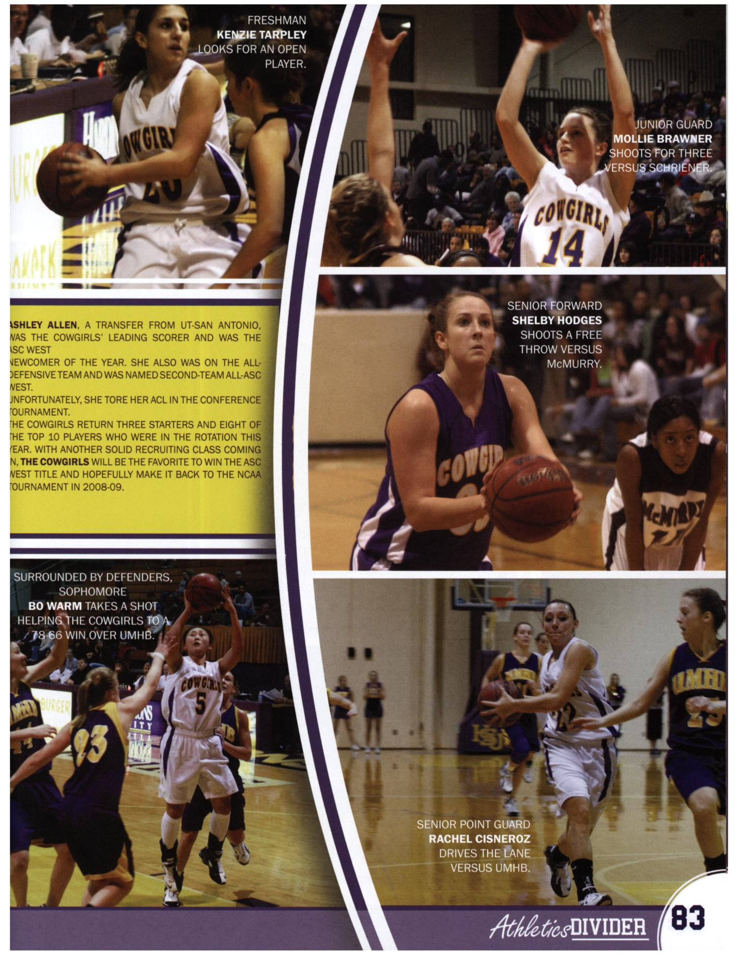 The Bronco, Yearbook of Hardin-Simmons University, 2008                                                                                                      83