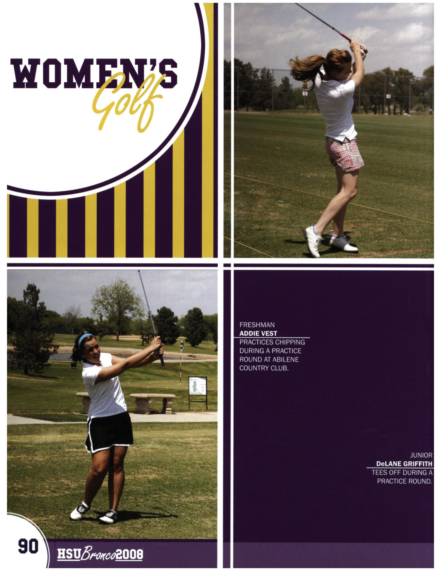 The Bronco, Yearbook of Hardin-Simmons University, 2008                                                                                                      90