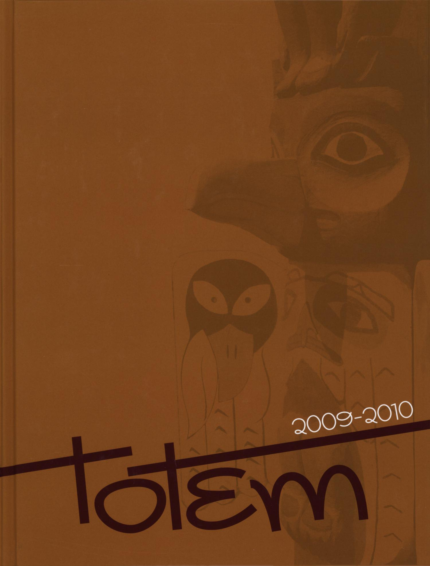 The Totem, Yearbook of McMurry University, 2010                                                                                                      Front Cover